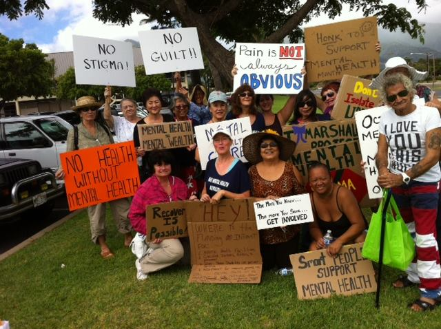 Maui Disability Alliance Sign Wavers